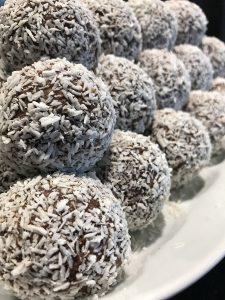 En himla massa chokladbollar