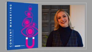Bild på boken Content Marketing och författaren Hanna-karin Grensman