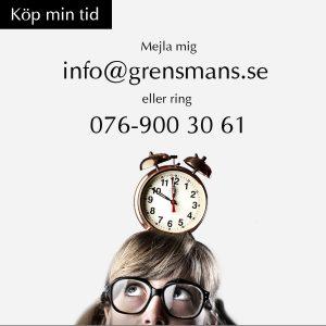 Hanna-Karin Grensman Grensman & Grensmans AB skribent debattör föreläsare köp min tid