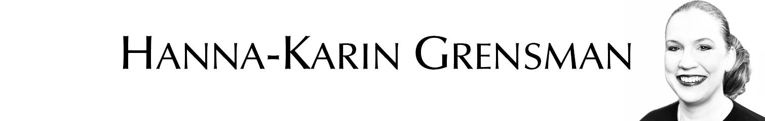 Grensaman & Grensmans AB Hanna-Karin Grensman författare föreläsare skribent